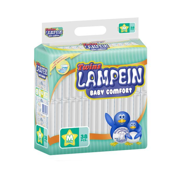 Lampein Baby Care Lampein Baby Diaper Big Pack Medium 38's