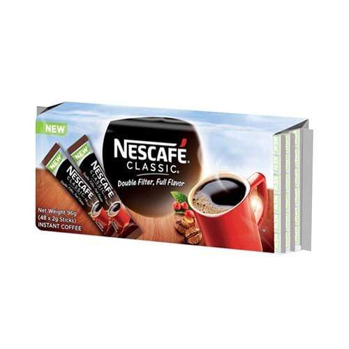 Nescafe Breakfast Drinks Nescafe Classic Sticks  2g x 48's