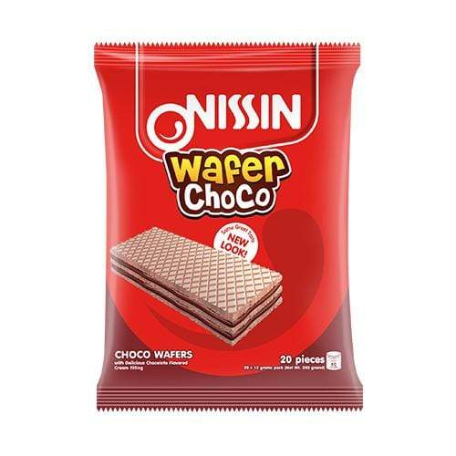 Nissin Biscuits Nissin Wafer Chocolate 12g x 20's