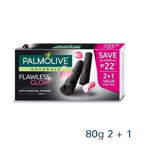 Palmolive Skin Care Palmolive Naturals Soap Flawless Glow with Charcoal Powder 80g  2 + 1