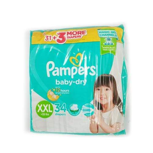 Pampers Baby Care Pampers Diaper Baby Dry XXL 34's