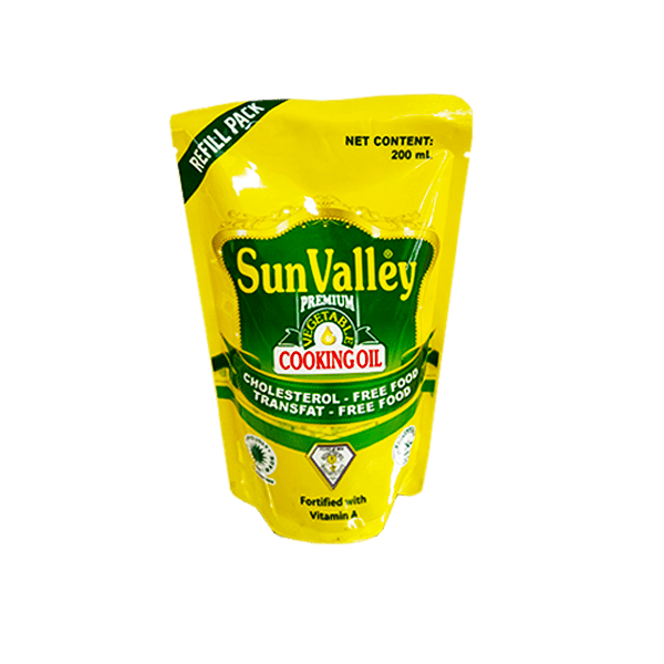 Sun Valley Commodities Sun Valley Vegetable Cooking Oil 200ml