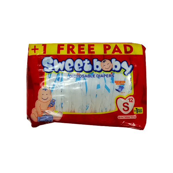 Sweet Baby Baby Care Sweet Baby Diapers Small 12's