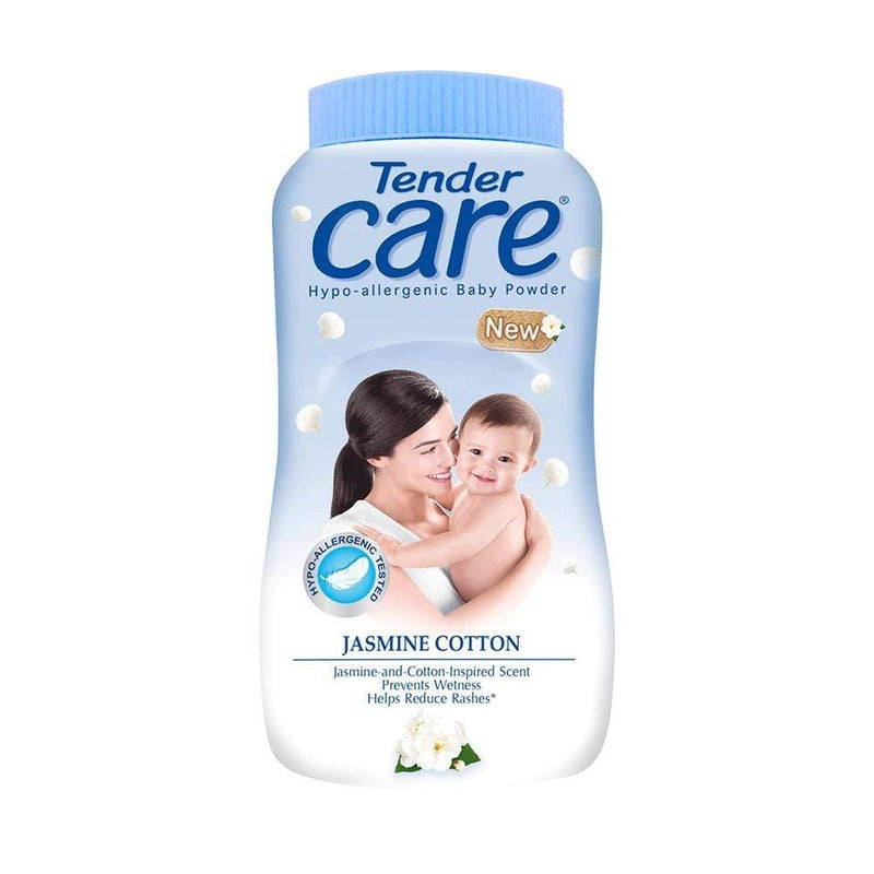Tender Skin Care Tender Care Talc JASMINE COTTON 100g