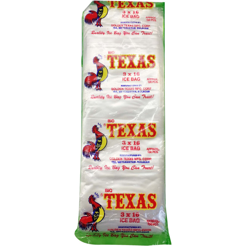 Texas Party Needs Texas Plastic Cellophane 3 x 16 100's