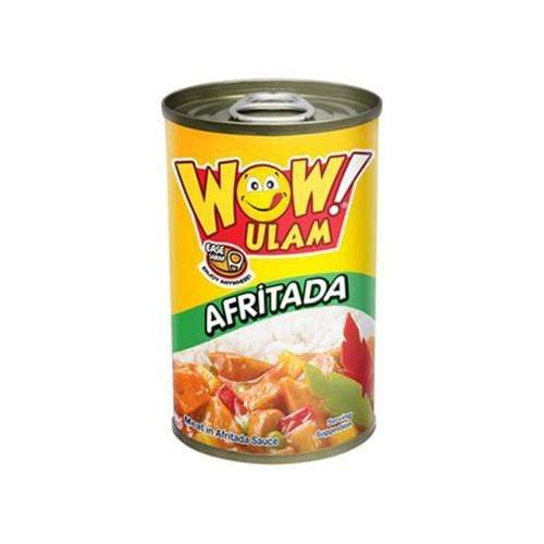 Wow Ulam Canned Meat Wow Ulam Afritada 155g