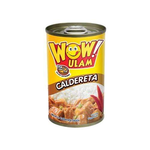 Wow Ulam Canned Meat Wow Ulam Caldereta 155g