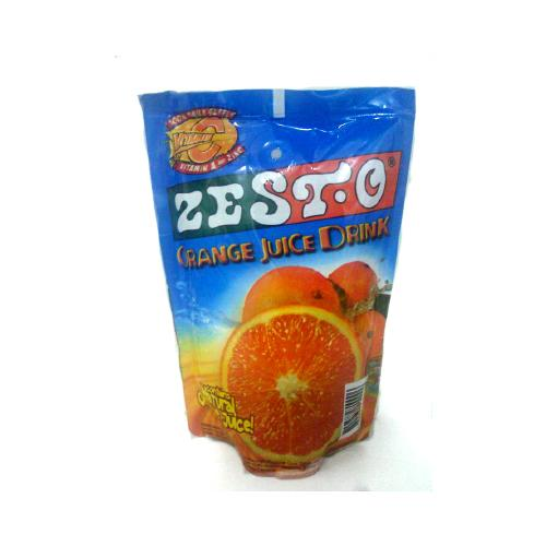 Zest-O Juice Zest-O Juice Drink Orange 200ml