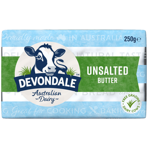 Devondale Butter<br>Unsalted - 250g