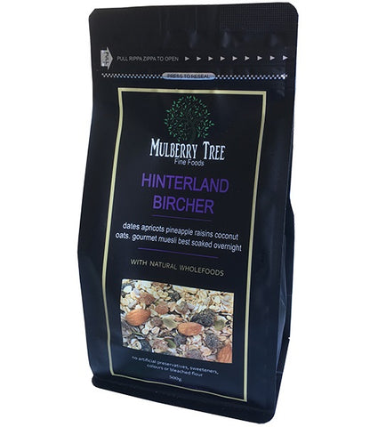 Mulberry Tree Bircher<br>Hinterland Muesli - 500g