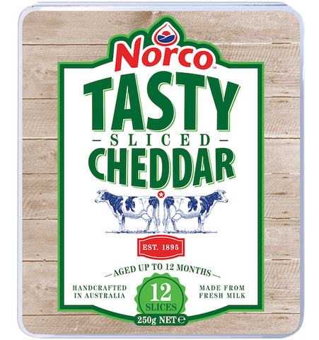 Norco Tasty Cheese Slices - 250g
