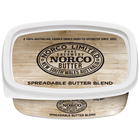 Norco Spreadable Butter  - 375g