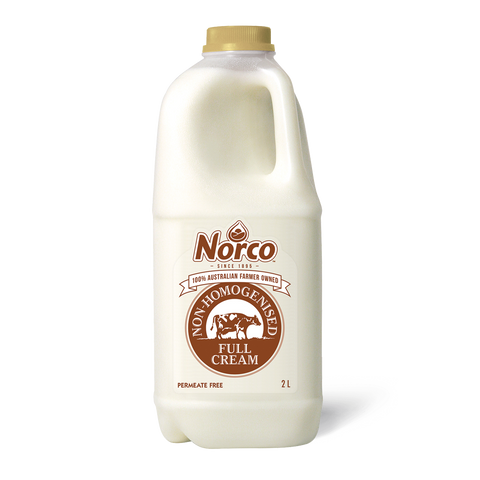 Norco Non-Homogenised Milk - 2L