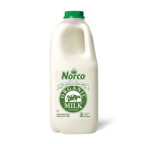 Norco Organic Full Cream Milk - 2L