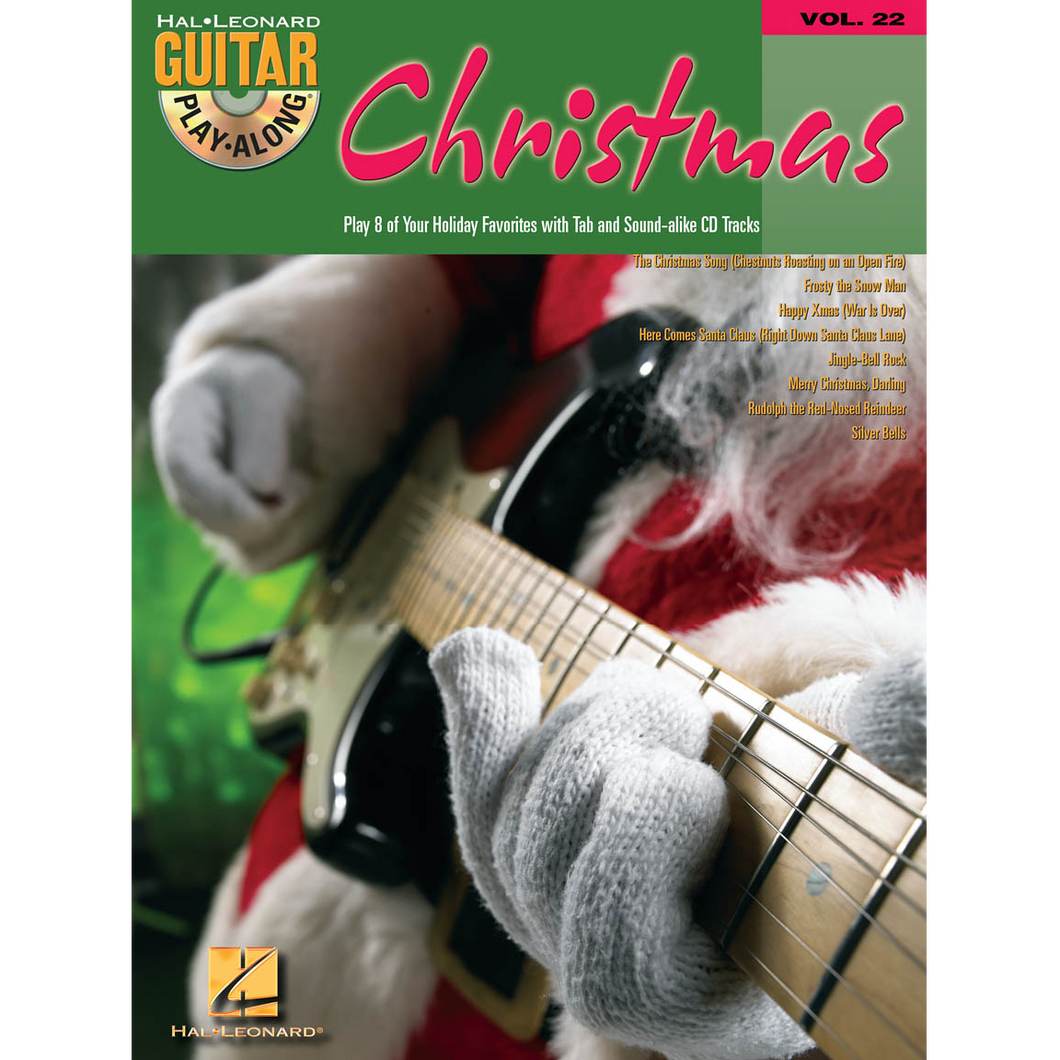 Hal Leonard HL00699600 Christmas Guitar Play-Along Volume 22