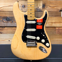 Load image into Gallery viewer, Fender 011-3012-721 2017 American Pro Strat MN Ash Body Electric Guitar, Natural