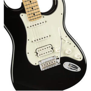 Fender 014-4522-506 Player Strat HSS MN Electric Guitar, BLK