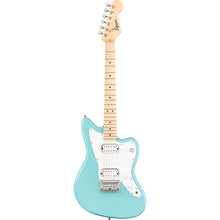 Load image into Gallery viewer, Squier 037-0125-504 Mini Jazzmaster HH Daphne Blue