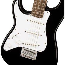 Load image into Gallery viewer, Squier 037-0123-506 Mini Strat Left-Handed Black