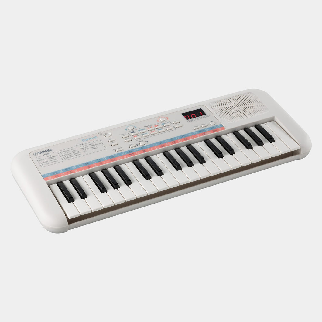 Yamaha PSSE30 White Entry-Level Remie Mini-Key Keyboard