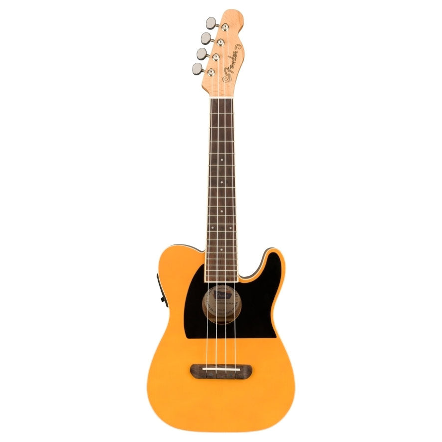 Fender 097-1653-050 Fullerton Tele Ukulele, Butterscotch Blonde