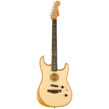 Load image into Gallery viewer, Fender 097-2023-221 American Acoustasonic Strat, Natural