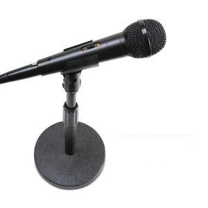 "On-Stage DS7200B 6"" Base Desktop Mic Stand - Round Base"