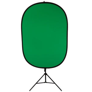 On Stage Stand VSM3000 Dual Sided Green/Blue Screen Kit
