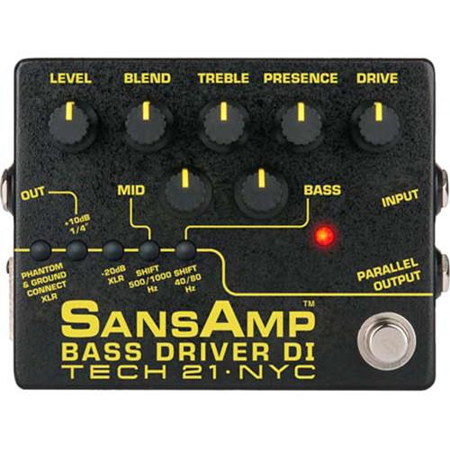 Tech21 BSDR-V2 SansAmp Bass Driver DI