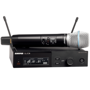 Shure SLXD24/B87A-G58 Wireless System with Beta87A Handheld Transmitter