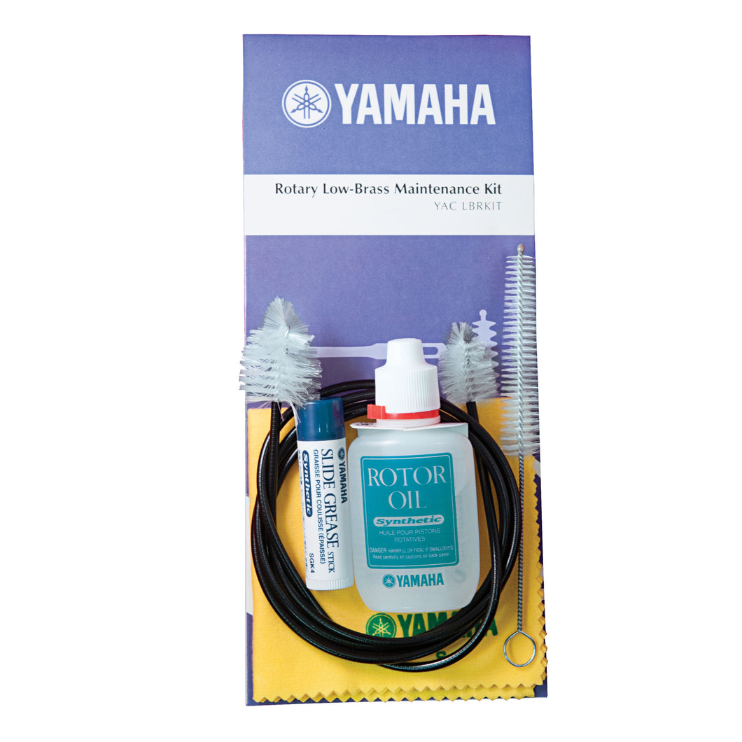Yamaha YACLBRKIT Low brass rotary valve maintenance kit; Yamaha