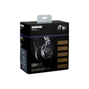Shure SRH840-BK Pro Studio Headphones for Critical Listening