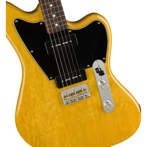 Fender 525-9900-334 LE Made-in-Japan Korina Offset Tele RW, Aged Natural
