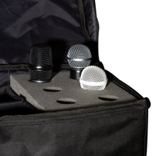 Load image into Gallery viewer, On-Stage MB7006 6 Space Microphone Bag