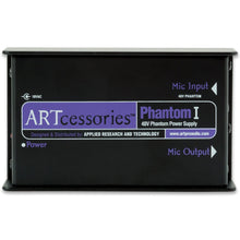 Load image into Gallery viewer, ART PHANTOM1 Single channel 48V Phantom Power Supply