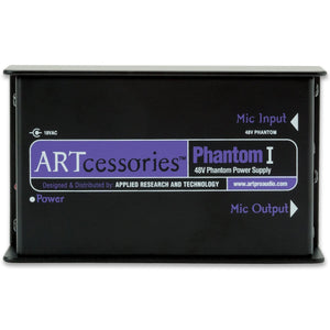 ART PHANTOM1 Single channel 48V Phantom Power Supply