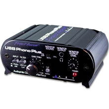 Load image into Gallery viewer, ART USBPHONOPLUSPS Audio Interface w/Phono, Line, SPDIF, Optical