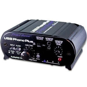 ART USBPHONOPLUSPS Audio Interface w/Phono, Line, SPDIF, Optical