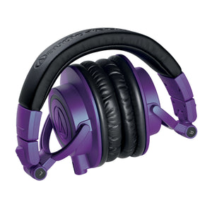Audio-Technica ATH-M50XPB Pro Closed-Back Headphone, Purple Limited Edition