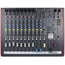 Load image into Gallery viewer, Allen & Heath ZED60-14FX 14 Channel (8XLR) Analog Mixer with FX, 60mm Faders