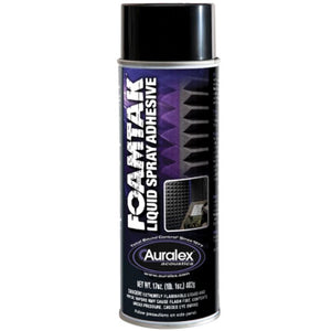 Auralex FTSPRAY Foamtak Spray 96ft²