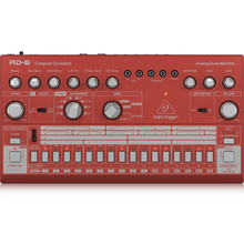 Load image into Gallery viewer, Behringer RD-6-RD Classic Analog Drum Machine, Red