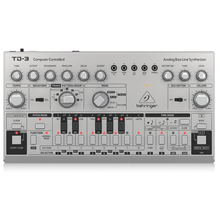Load image into Gallery viewer, Behringer TD-3-SR Analog Bass Line Synthesizer with VCO, VCF, 16-Step Sequencer