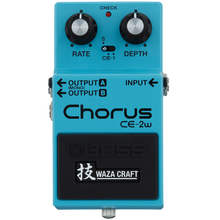 Load image into Gallery viewer, Boss CE-2W Waza Craft Chorus Effects Pedal