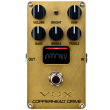 Load image into Gallery viewer, Vox VECD Valvenergy Copperhead Drive Pedal W/NuTube