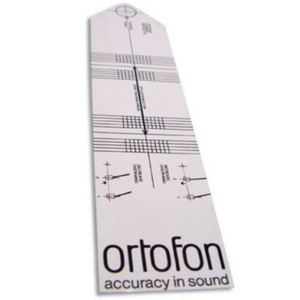 Ortofon ALIGNMENTTOOL Alignment Protractor for Turntables