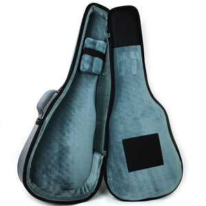 HI Bags DG24GR Dreadnought Acoustic Padded Bag