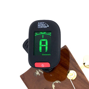Easy Music Center EMC-T Chromatic Clip-on Tuner, Black