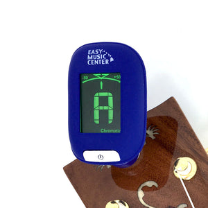 Easy Music Center EMC-T Chromatic Clip-on Tuner, Blue