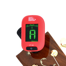 Load image into Gallery viewer, Easy Music Center EMC-T Chromatic Clip-on Tuner, Red